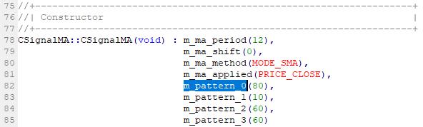 パターンの強度確認 ステップ3